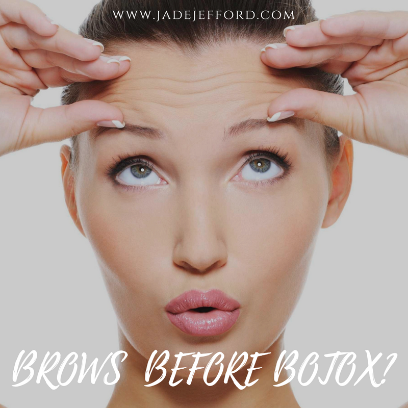Brows Before Botox Jade Jefford Permanent Cosmetics