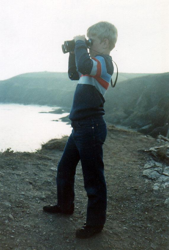Seawatching aged 9
