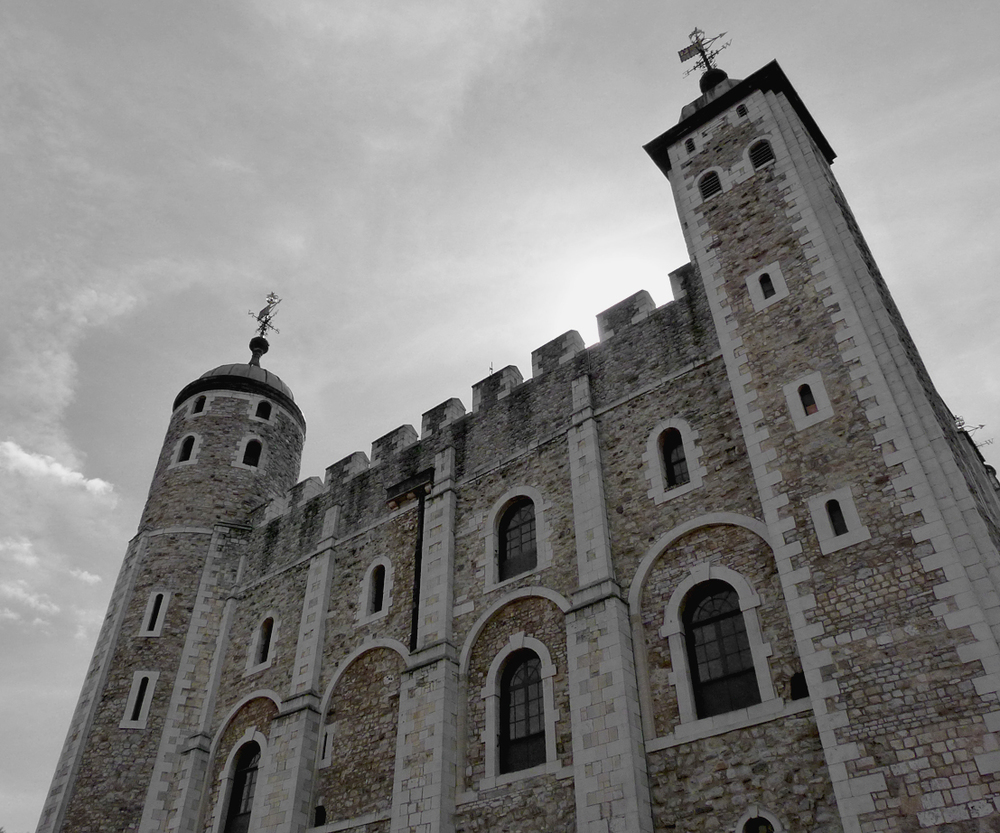 The White Tower built in 1078 by William the Conkerer