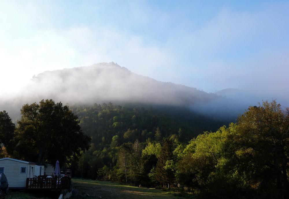 Early morning at U Sortipiani