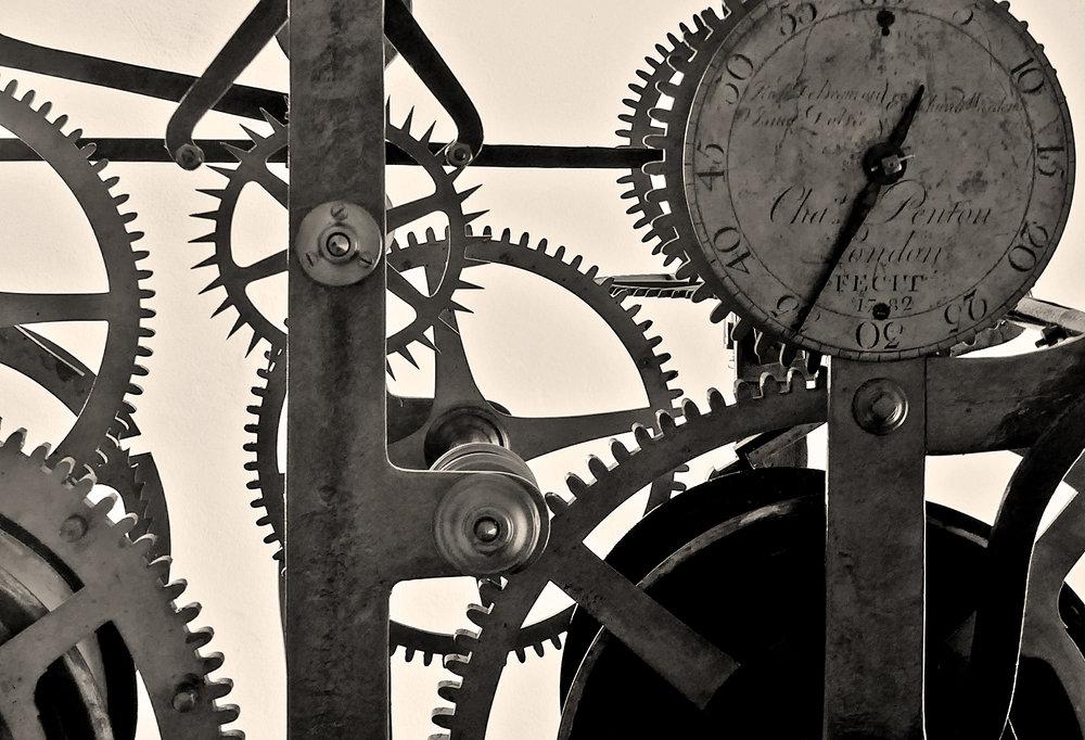 Clock mechanism, Castle Cornet