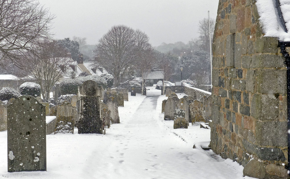 Vale Churchyard, 27 Feb 18