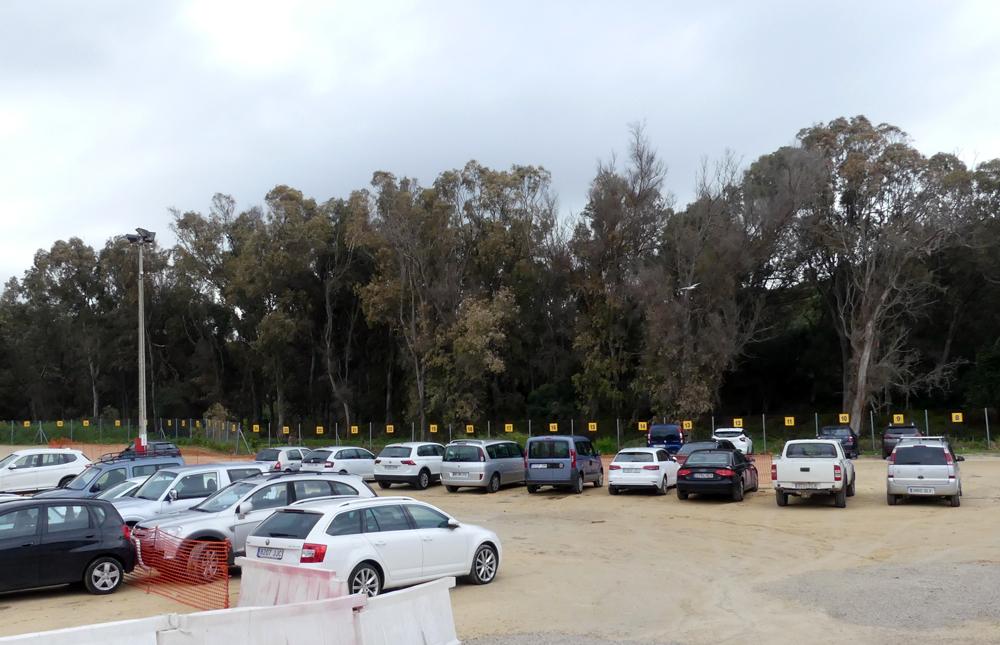 Tarifa car park