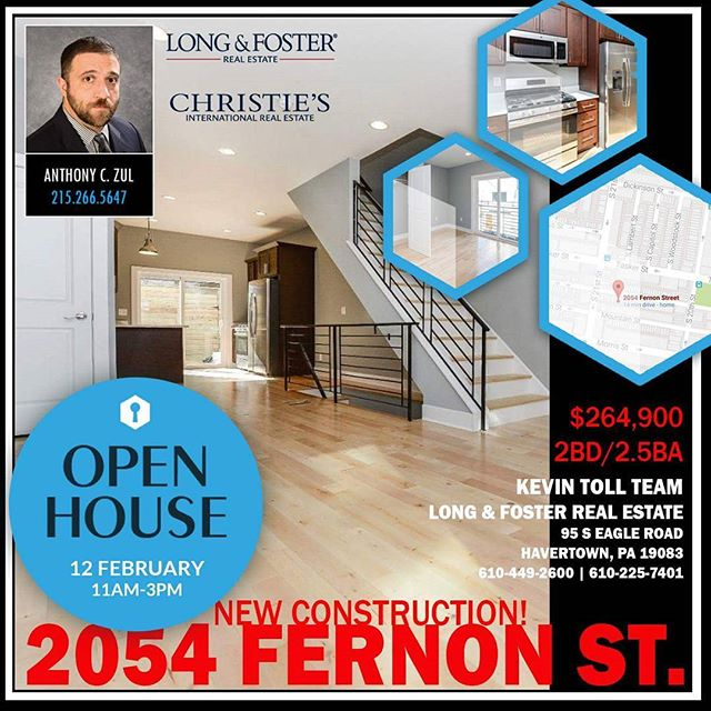 TODAY IN POINT BREEZE!! 11am-3pm! Come out! This is a GREAT home!  http://snip.ly/dteu9 _ www.anthonyzulrealestate.com  _ #UrbanRealtor #Realtor #RealEstate #LnF #TeamToll #Philly #Philadelphia #AnthonyZul #AZRE #OpenHouse #RealEstatePhilly #PHL #SouthPhilly #PointBreeze