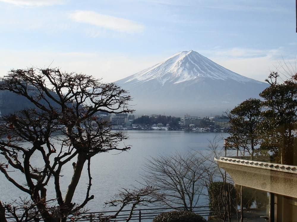 Mount Fuji, of course