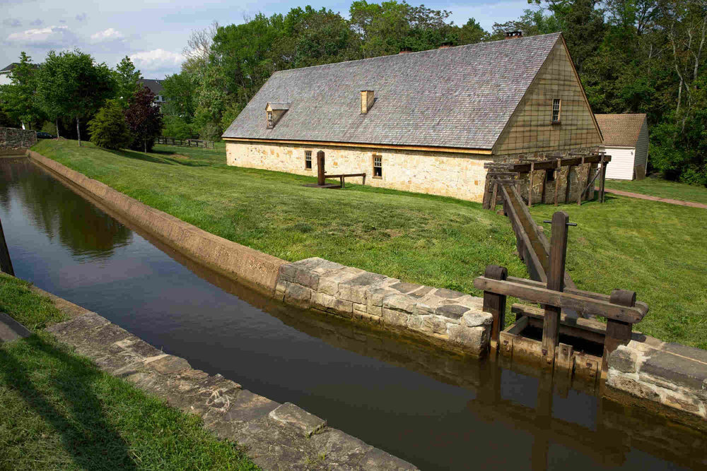 Distillery at Mount Vernon ( taken from the Mount Vernon website )