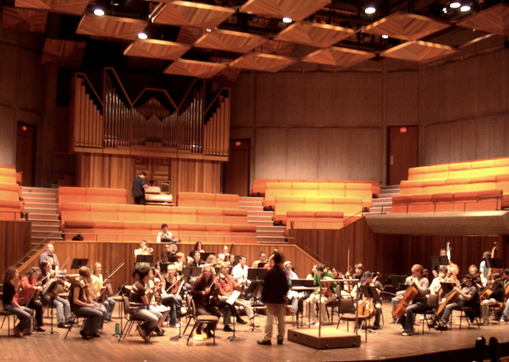 Conducting the Orchestra of University of Victoria
