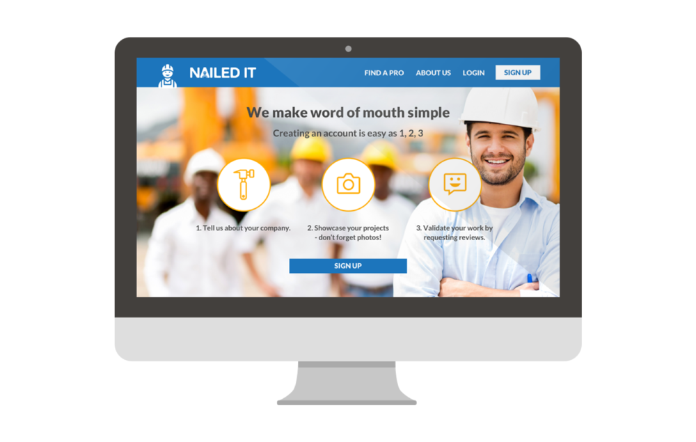 NAILED IT - User Experience Design & Research
