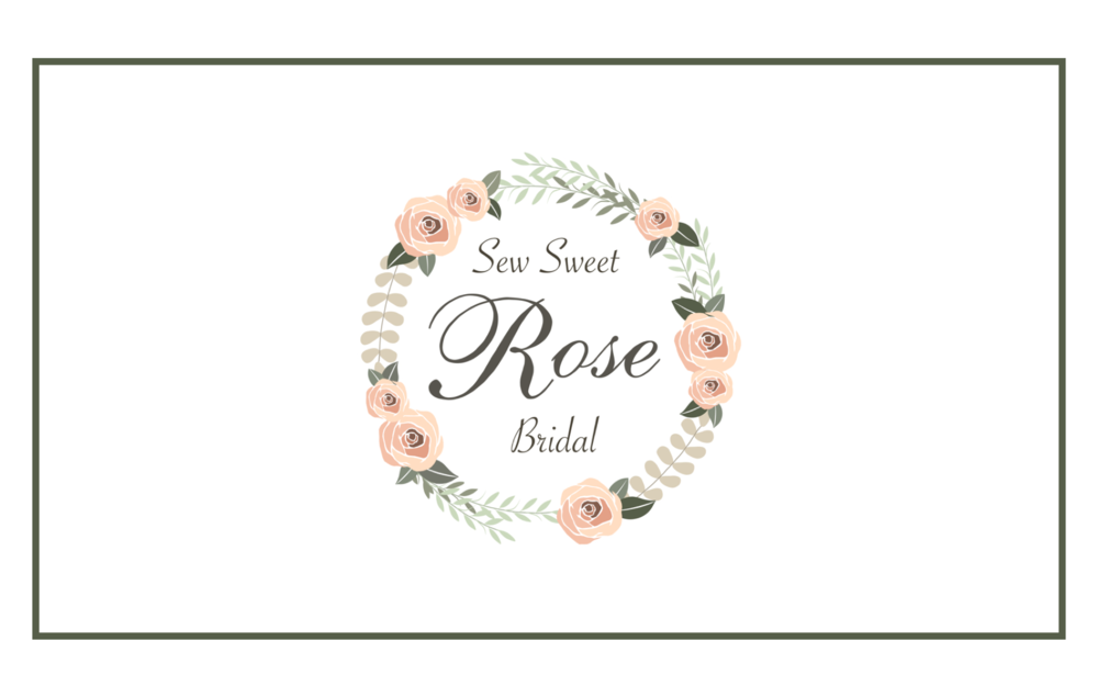 SEW SWEET ROSE BRIDAL - Branding & Logo Design