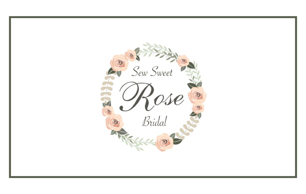 SEW SWEET ROSE BRIDAL - Branding & Logo Design