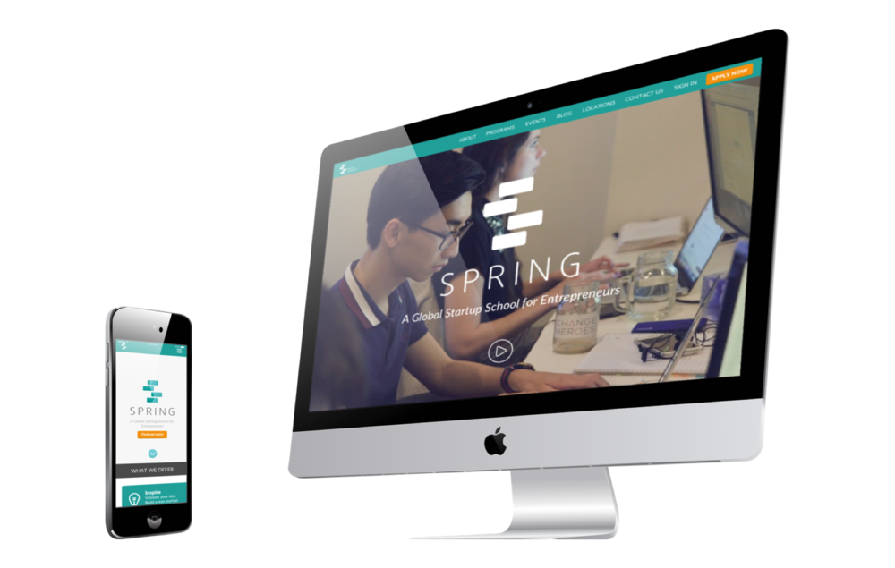 SPRING REDESIGN - User Experience & Interface Design