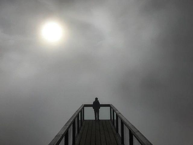 Foggy heaven ☁️