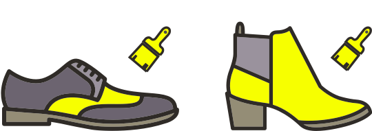 Shoe dye / recolouring