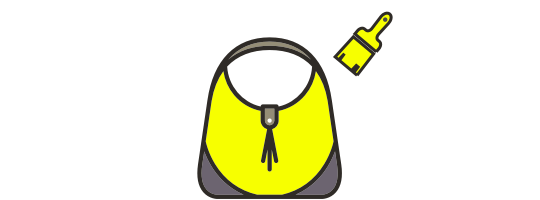 Handbag recolouring and redyeing