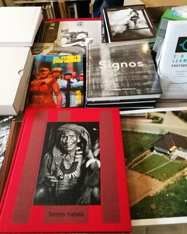 SIGNOS by @vjvillafranca has arrived ! MAPA Books will be at Paris Photo at Polycopies on the Cafe Lehmitz table. A preview of Signos will be available to view. #mapabooks #signos #veejayvillafranca #parisphoto2017 #philippines i