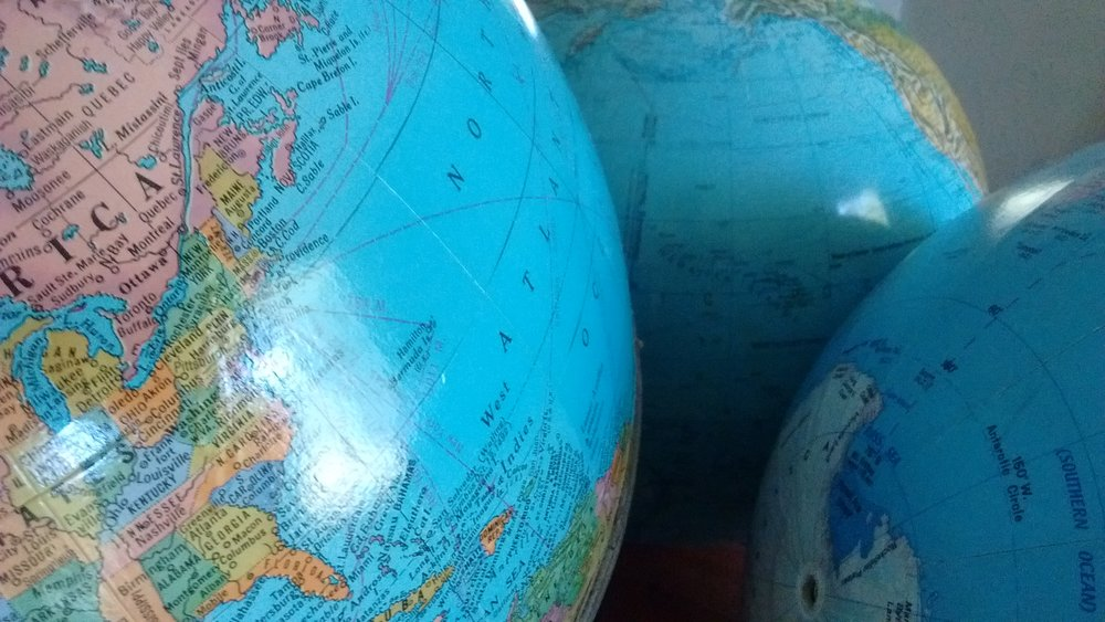 Globes galore!!!