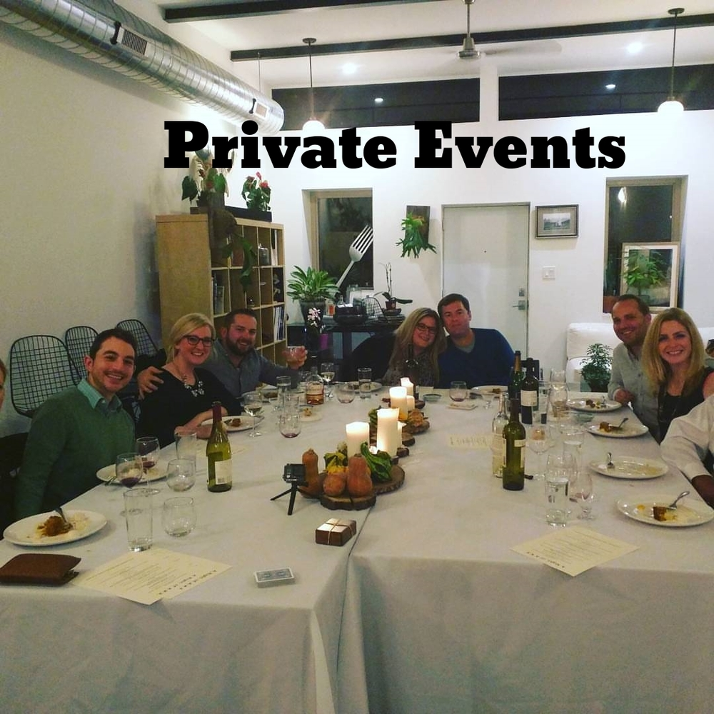 Private Events