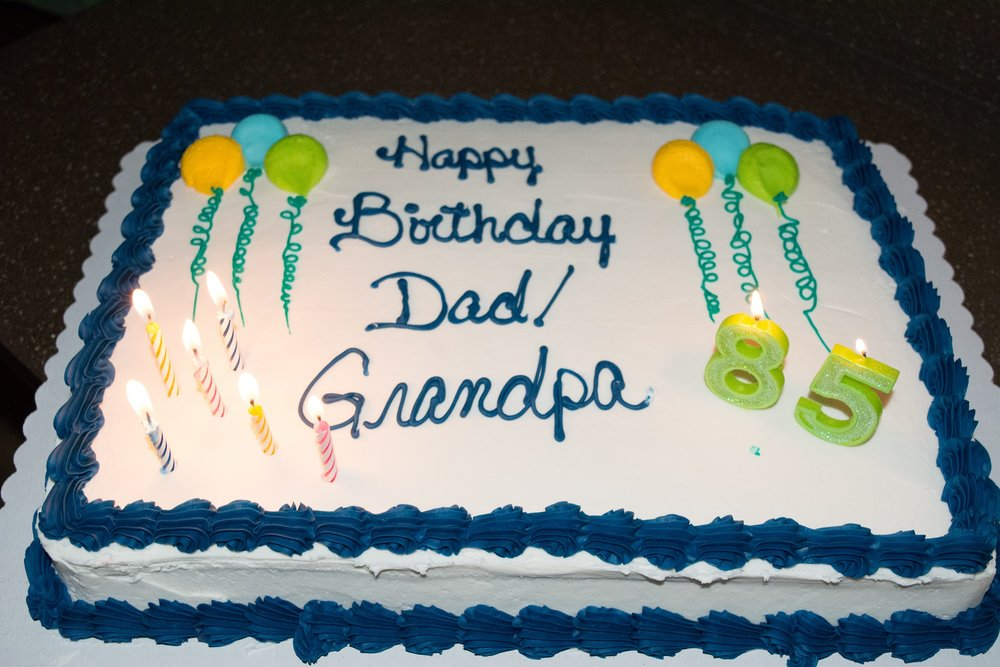 Grandpas 85th Birthday Party 11