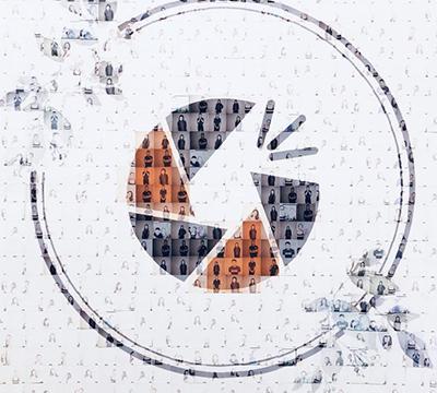 Logo/照片马赛克墙