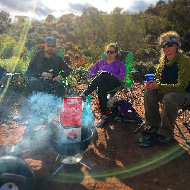 Camping season is here. Grab a @charcoalbox, some friends and enjoy the outdoors without all the hassle.