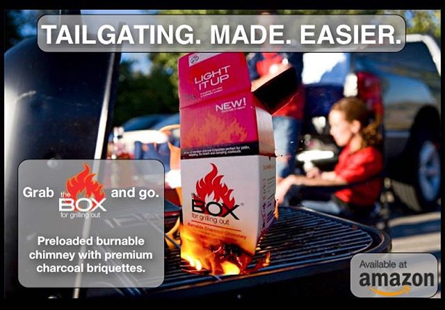 #tailgating season is in full swing. Grab theBOX before heading out for the big game. Now available on Amazon.