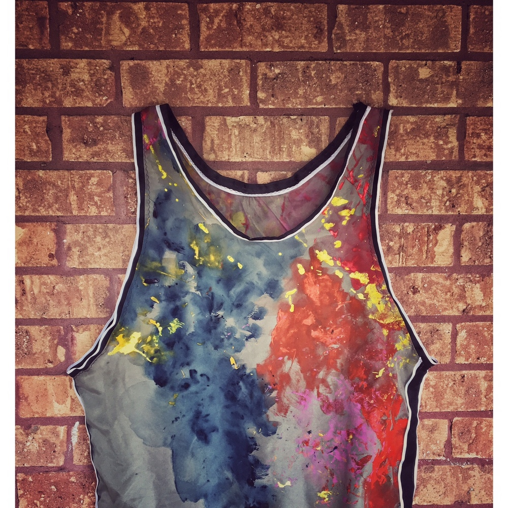 Cut & Sew: Jersey with Hand Painted Textile