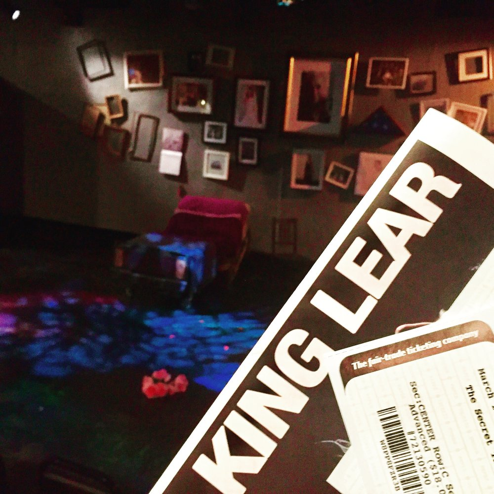 King Lear at the Secret Theatre