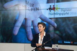 Begrüßungsvortrag beim   Digitalen Flüchtlingsgipfel  , Berlin, 14. Juni 2016