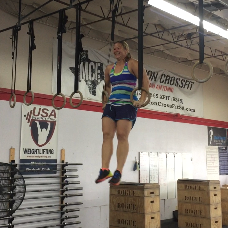 Kristy's FirstMuscle-Up! -