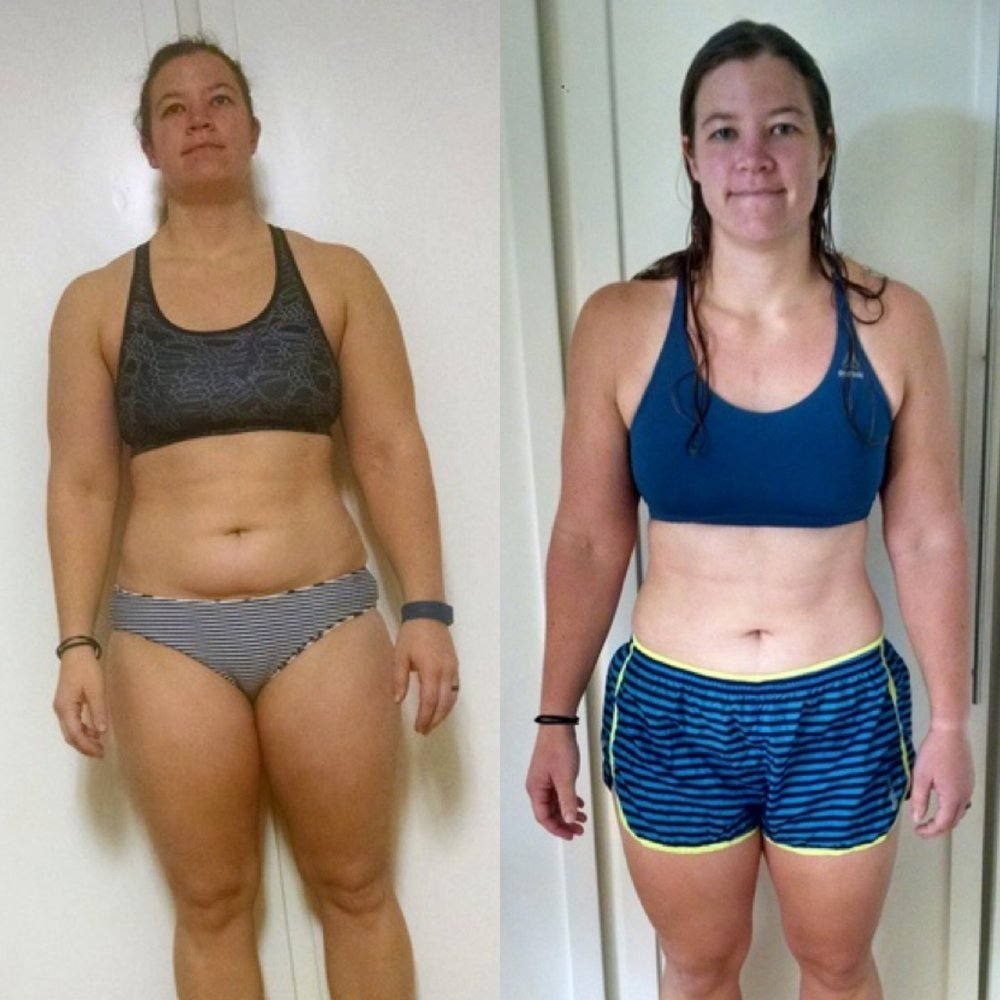 Kristy's incredible transformation!