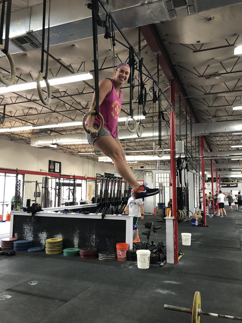 Muscle-Ups for Days - Meredith set and smashed her goal to achieve ring muscle-ups this year!