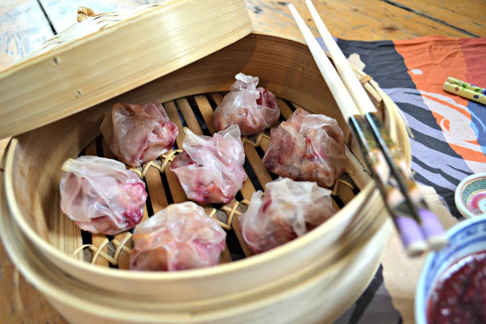 Easy dim sum | The Flourishing Pantry | yeast free diet blog