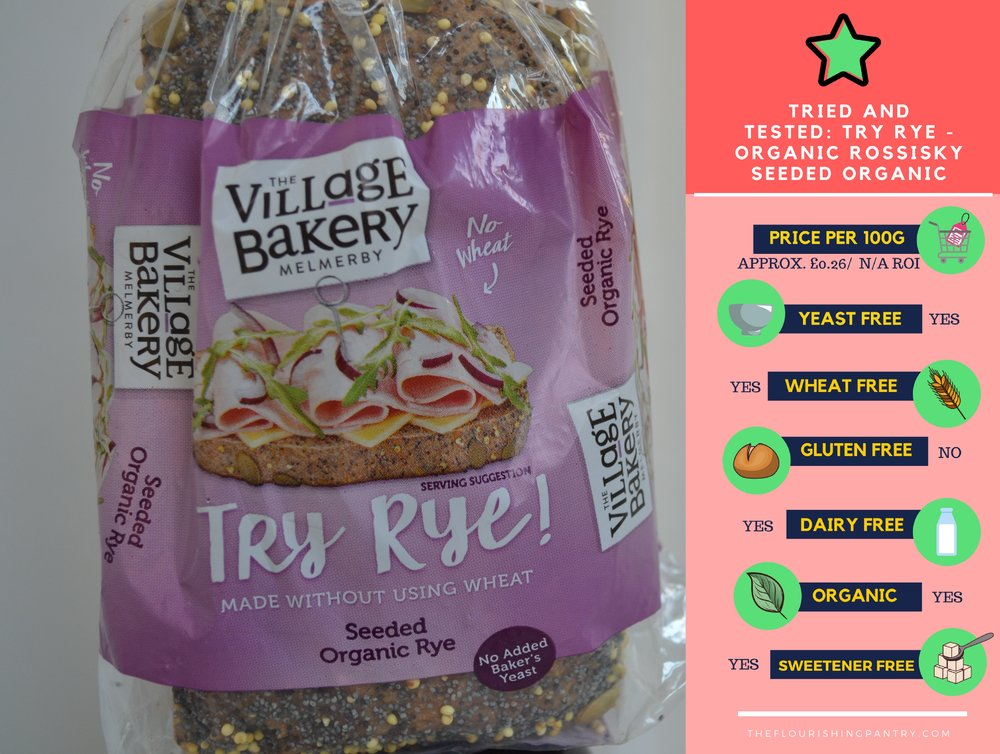 Try Rye review | The Flourishing Pantry | yeast free bread