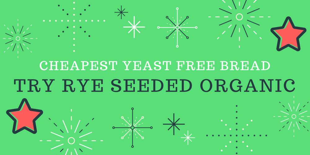 cheapest yeast free bread | The Flourishing Pantry | yeast free diet blog