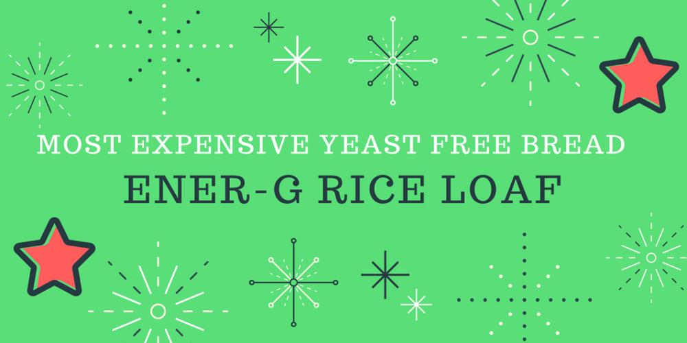 Expensive yeast free bread | The flourishing Pantry | yeast free diet blog
