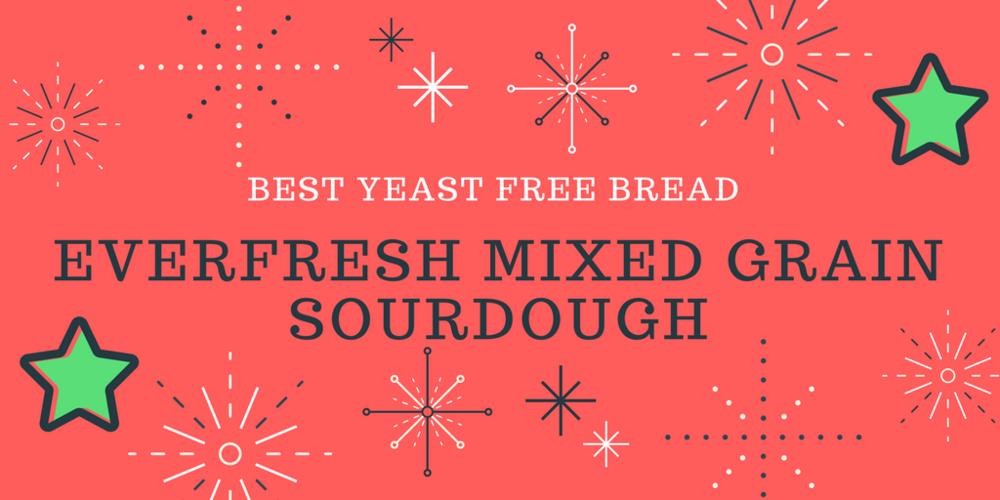 Best yeast free bread | The Flourishing Pantry | yeast free diet blog