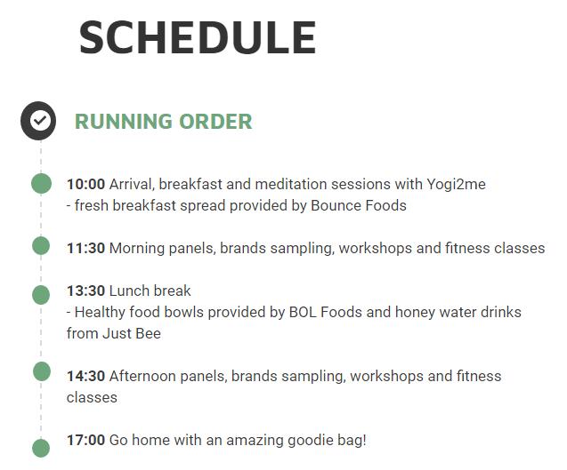 HBC Summit schedule