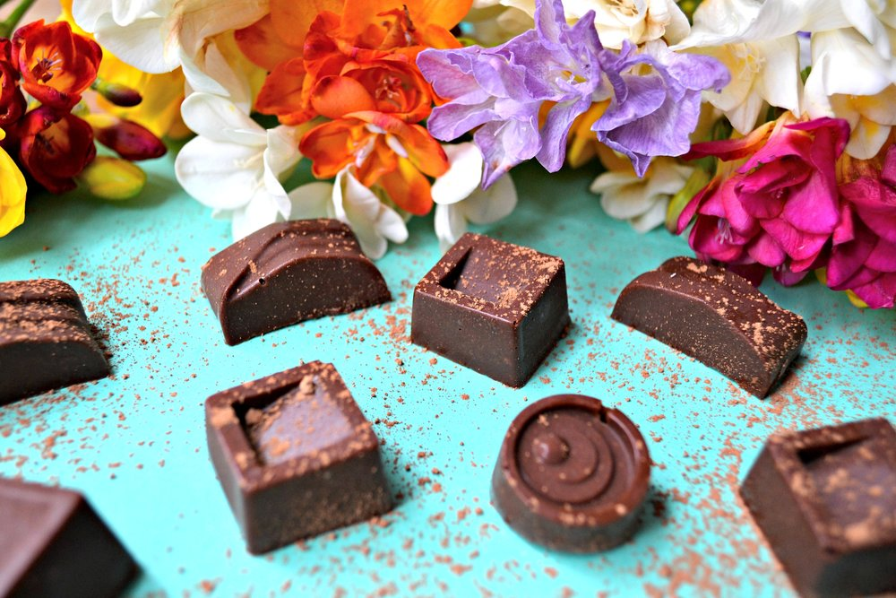 Maca and cashew chocolates | vegan chocolate recipe | The Flourishing Pantry