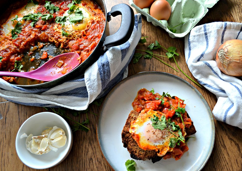 Shakshuka recipe | The Flourishing Pantry