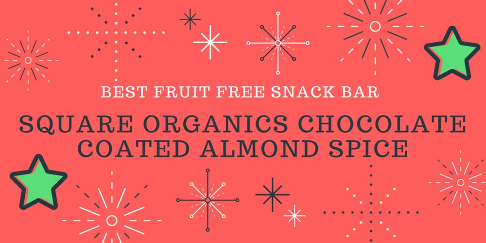 Best fruit free snack bar | The Flourishing Pantry
