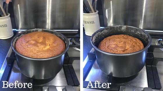 Shriveled cake | The Flourishing Pantry