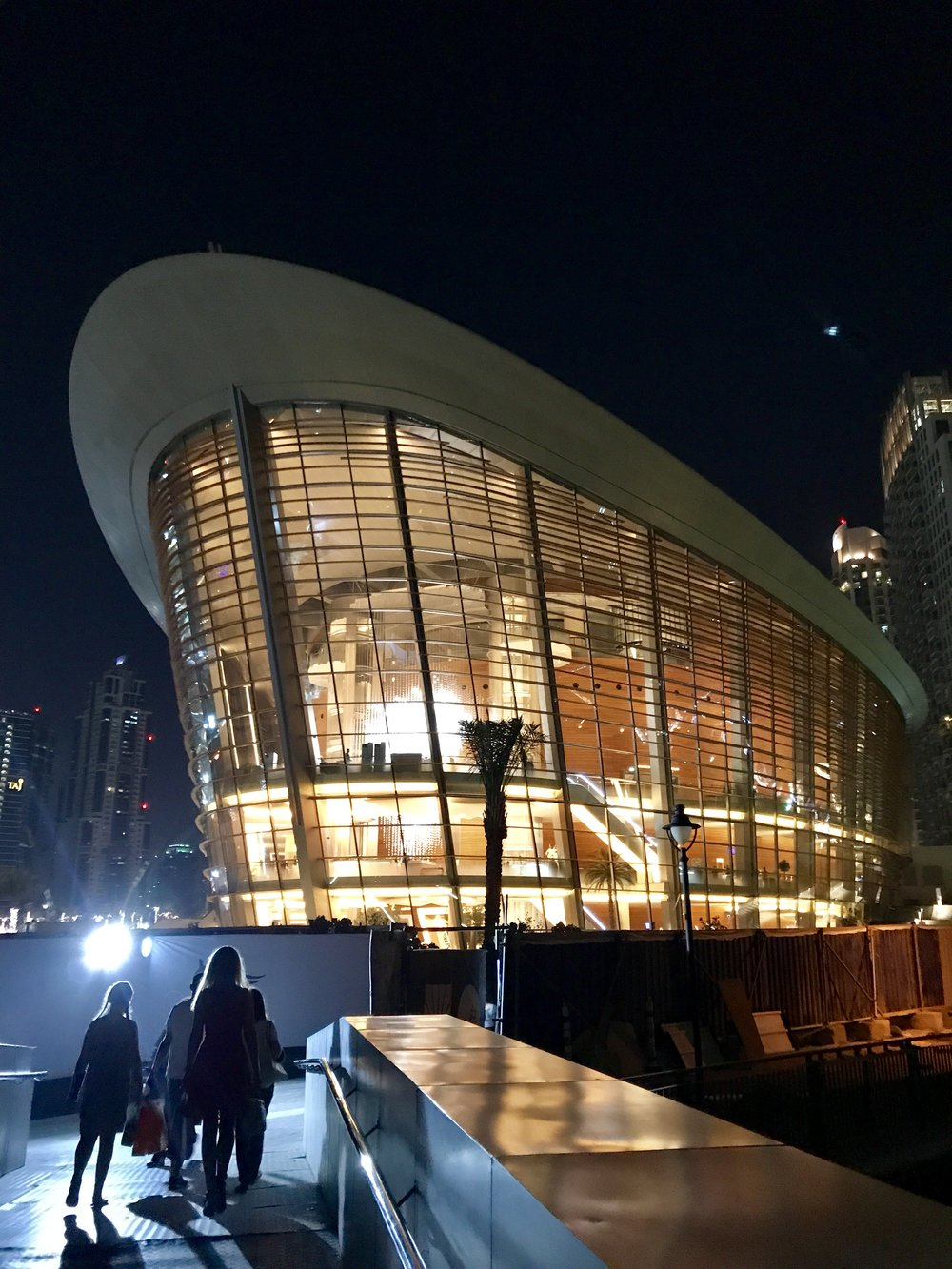 My office for a few days.... Dubai Opera