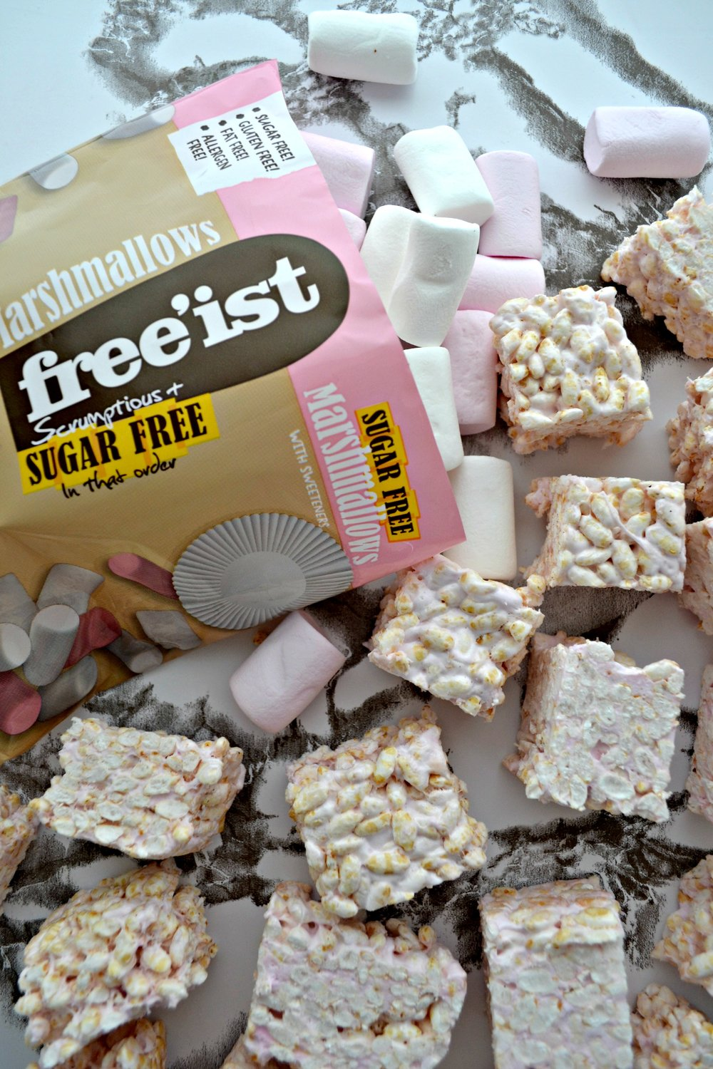 Rice Crispy Squares with Free'ist | The Flourishing Pantry