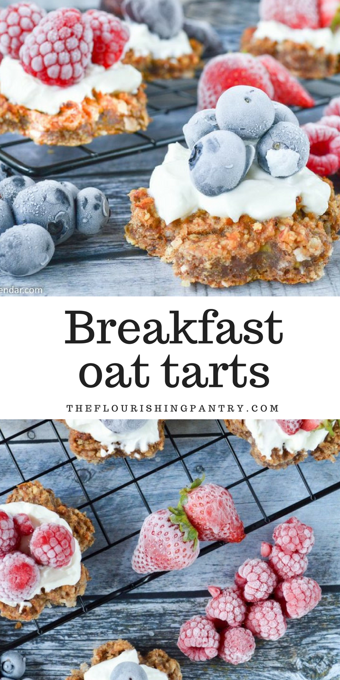 Breakfast oat tarts | The Flourishing Pantry