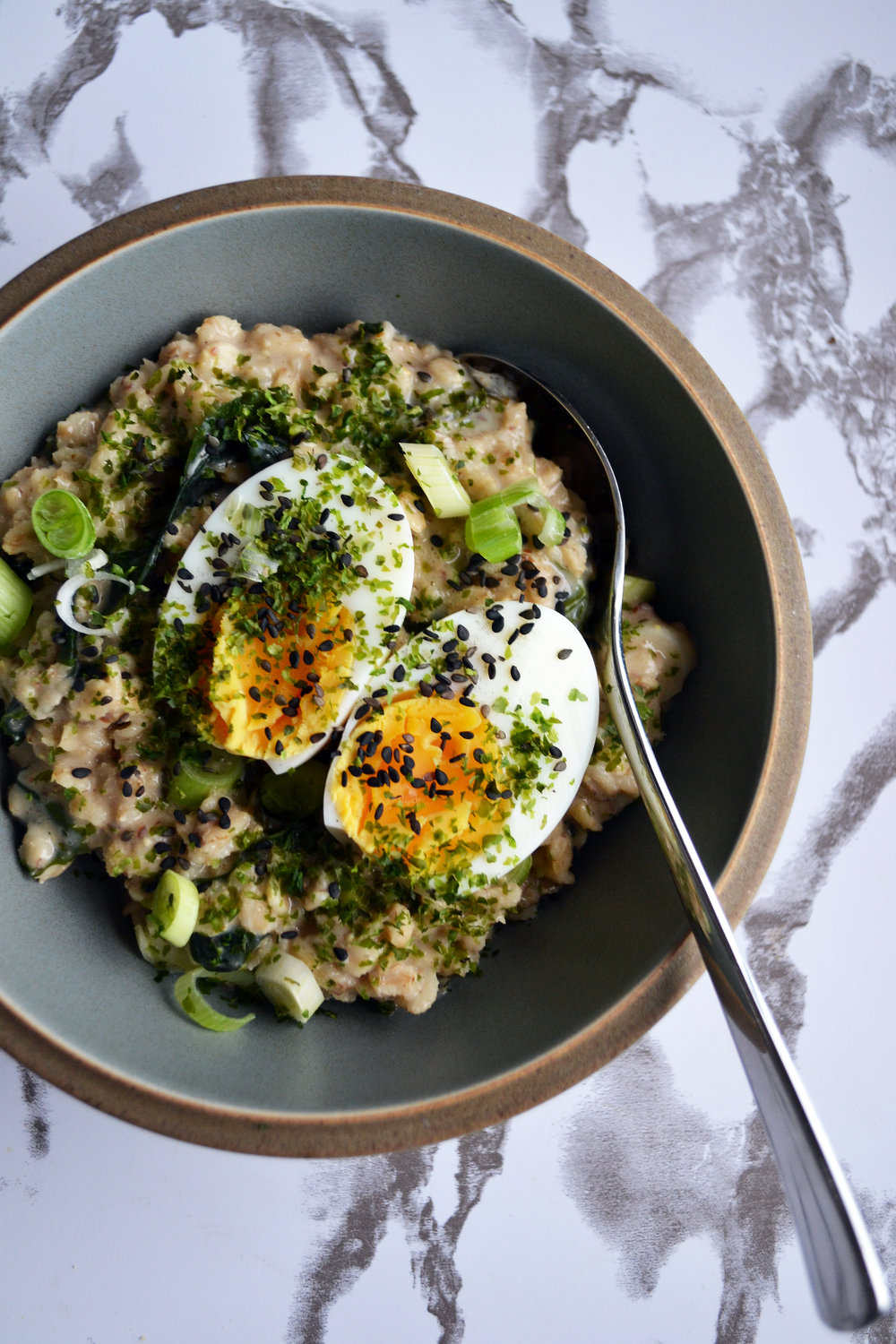 Miso and wakame oats | The Flourishing Pantry