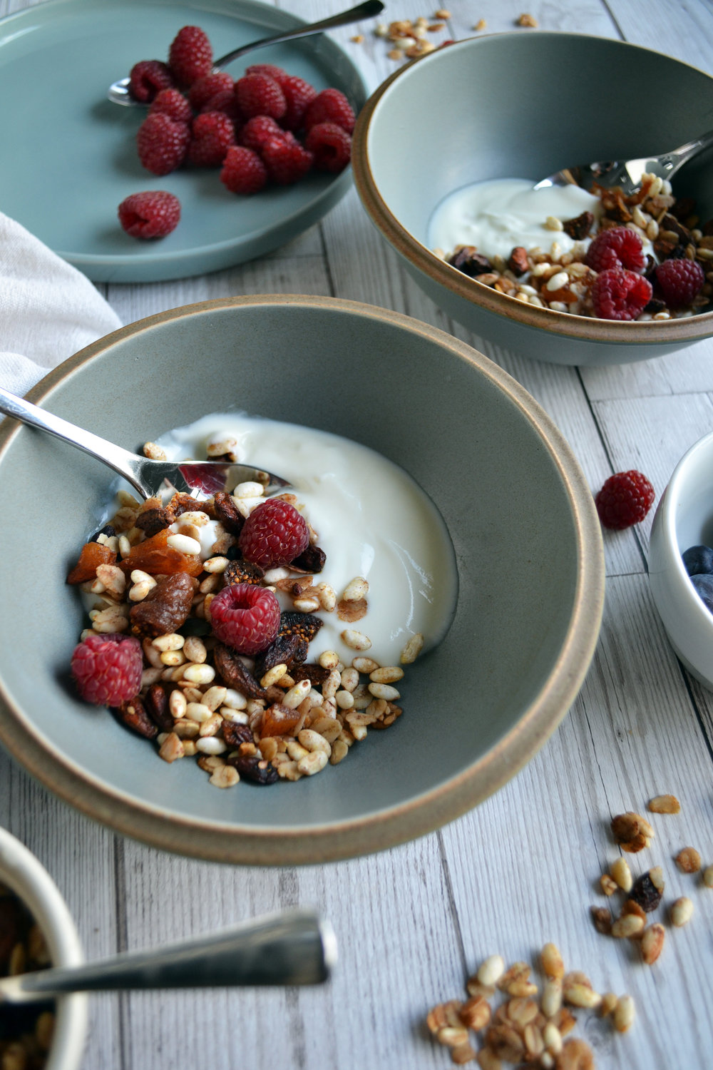 Homemade fruity granola | The Flourishing Pantry