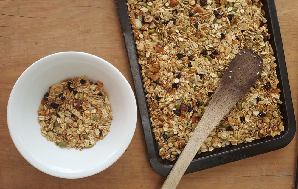 Delalicious granola