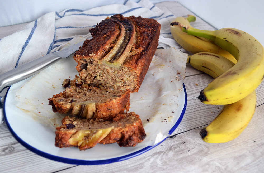 Hazelnut and banana bread | The Flourishing Pantry