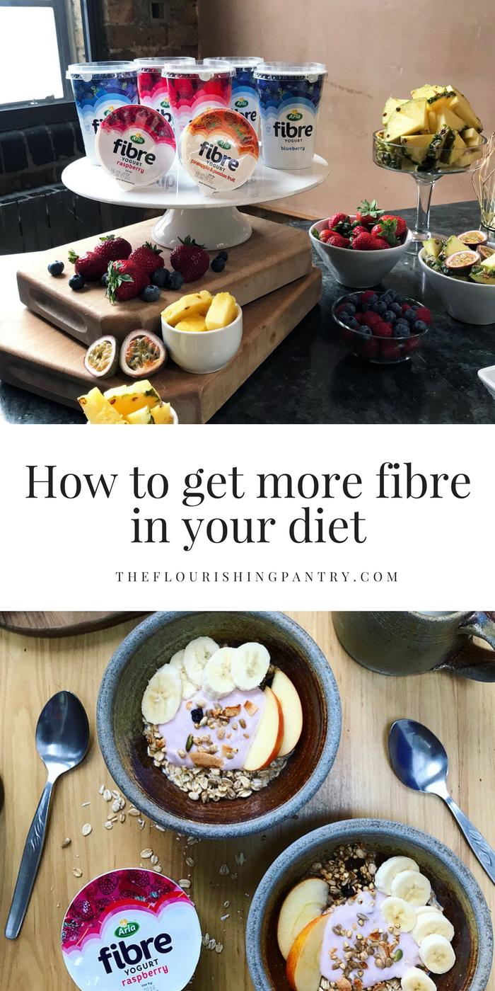 Get more fibre The Flourishing Pantry