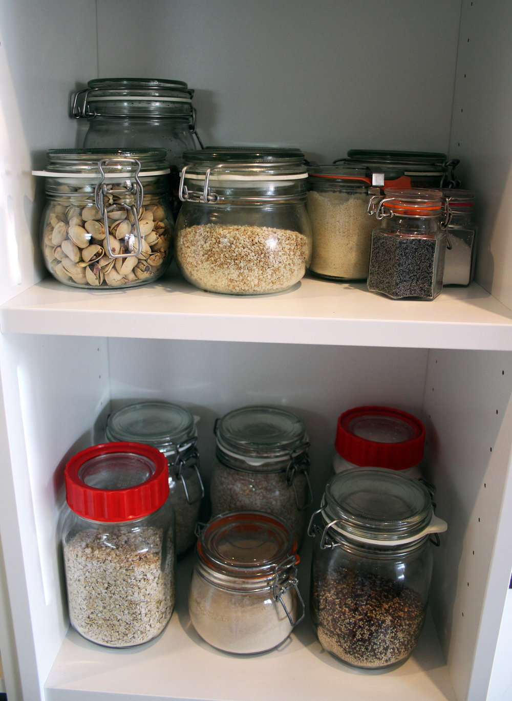 Kilner jars kitchen | The Flourishing Pantry